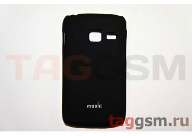 Задняя накладка Moshi Samsung S6102 пластик черный