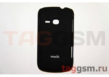 Задняя накладка Moshi Samsung S6500 пластик черный