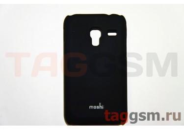 Задняя накладка Moshi Samsung S7500 пластик черный