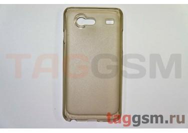 Задняя накладка ультра тонкая Samsung i9070 пластик матовая черная
