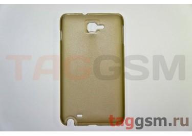 Задняя накладка ультра тонкая Samsung i9220 пластик матовая черная
