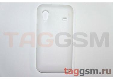 Задняя накладка ультра тонкая Samsung S5830 пластик матовая белая