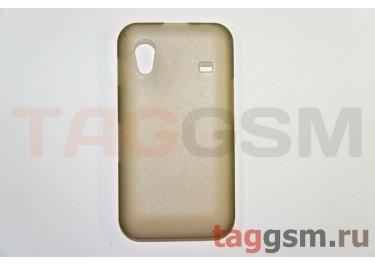 Задняя накладка ультра тонкая Samsung S5830 пластик матовая черная