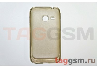 Задняя накладка ультра тонкая Samsung S6802 пластик матовая черная