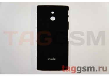 Задняя накладка Moshi Sony-Ericsson LT22i пластикчерный