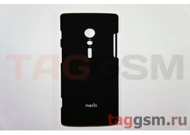 Задняя накладка Moshi Sony-Ericsson LT28i пластикчерный