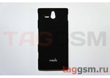 Задняя накладка Moshi Sony-Ericsson ST25i пластикчерный