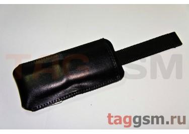 Чехол  с язычком K286 кожа Nok 5130 (черный)