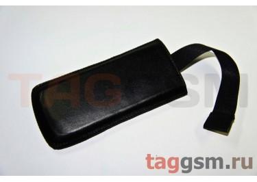 Чехол  с язычком K286 кожа Nok 7900 (черный)