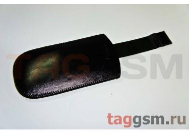 Чехол  с язычком K286 кожа Nok 8800 (черный)
