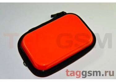Сумка для фотоаппарата лаковый оранжевый