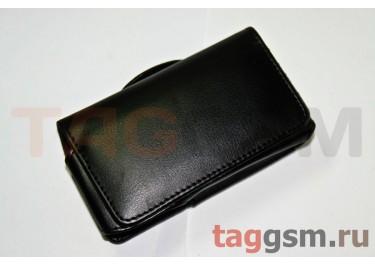 Футляр R1950 гладкий черный НТС Touch 2 / Sams S5230