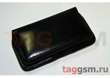 Футляр 001841 гладкий черный iPhone 4 / 4S / C7
