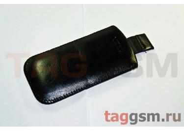Чехол  с язычком кожа Nok 5310 (черный)