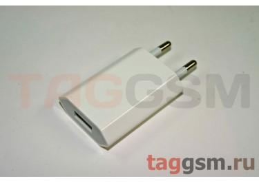 СЗУ для iPhone 4 (большой блок питания ) 1000mAh белый