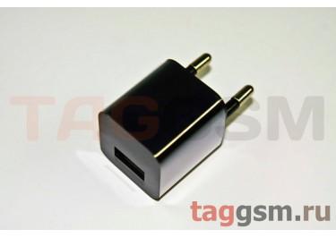 СЗУ для iPhone 4 (маленький блок питания чёрный) 1000mAh втехпак