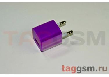 СЗУ для iPhone 4 (маленький блок питания ) 1000mAфиолетовый