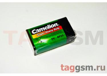 Элементы питания Camelion 6F22-1P Green Plus Alkaline Крона