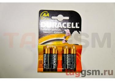 Элементы питания Duracell LR6-4BL