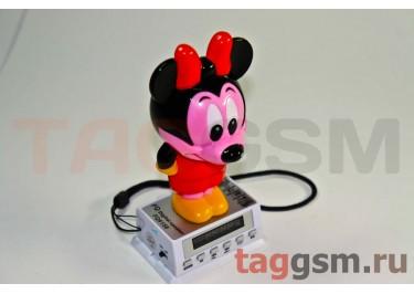 """Колонка игрушка """" Микки Маус """"FQ-158  (LCD-FM,USB,SD)"""