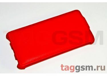 Сумка футляр-книга Armor Case для HTC Windows Phone 8X / C620e (Lux красная в коробке + плёнка)