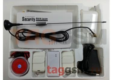 Беспроводная GSM сигнализация (GSM10A), русифицированная