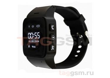 GPS - детские часы SmartBabyWatch D99 (Черные)