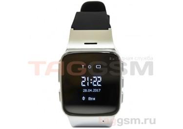 GPS - детские часы SmartBabyWatch D99 (Серебрянные)
