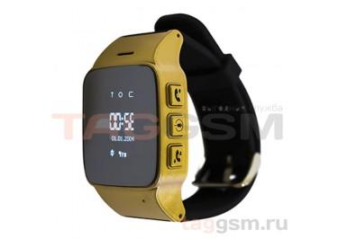 GPS - детские часы SmartBabyWatch D99 (Золотые)