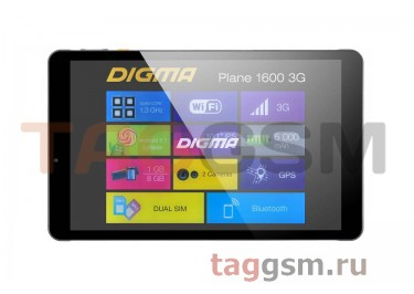 Планшет Digma Plane 1600 3G (Grey)