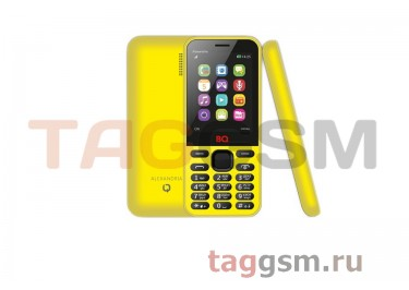 Сотовый телефон BQ Alexandria BQM 2800 (Yellow)