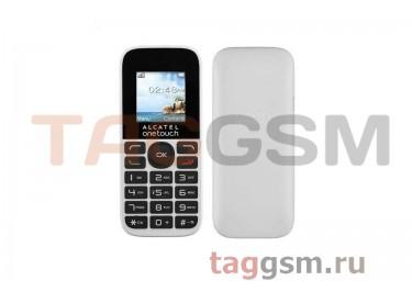 Сотовый телефон Alcatel 1016D (2SIM) (Pure White)