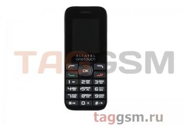 Сотовый телефон Alcatel 1016D (2SIM) (Volcano Black)