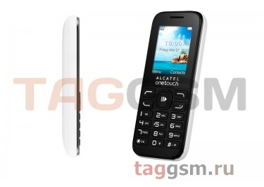 Сотовый телефон Alcatel 1052D (2SIM) (Pure White)