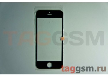 Стекло для iPhone 5 / 5C / 5S (черный)