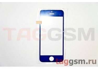 Стекло для iPhone 5 / 5C / 5S (темно-синий)