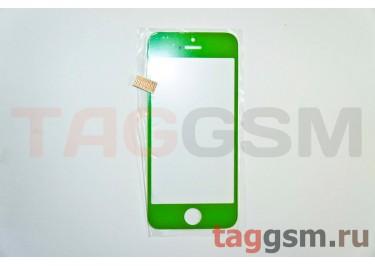 Стекло для iPhone 5 / 5C / 5S (зеленый)