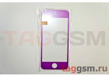 Стекло для iPhone 5 / 5C / 5S (пурпурный)