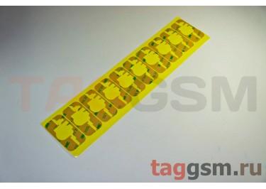 Проклейки тачскрина для iPhone 3 / 3GS (комплект верх / низ 10шт)