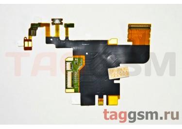 Шлейф для Sony Ericsson LT28 основной + микрофон,оригинал