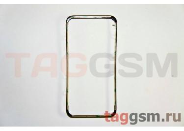 Рамка дисплея для iPhone 4S (черный) + скотч
