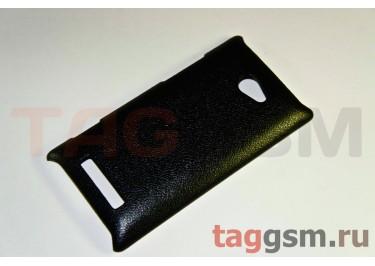 Накладка JZZS Leather HTC 8X black