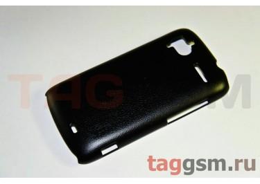 Накладка JZZS Leather HTC G14 Sensation black