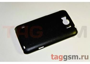 Накладка JZZS Leather HTC G21 Sensation XL black