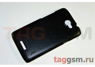 Накладка JZZS Leather HTC G23 One X black