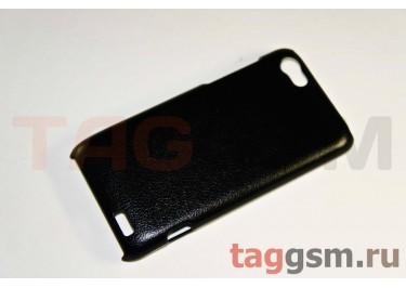 Накладка JZZS Leather HTC One V black