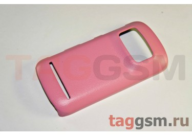 Накладка JZZS Leather Nokia 808 Pureview pink