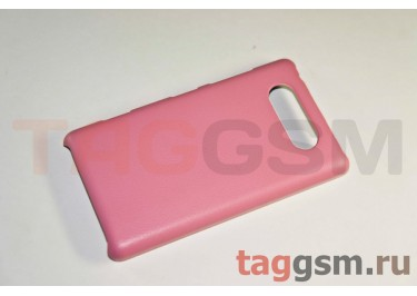 Накладка JZZS Leather Nokia 820 pink