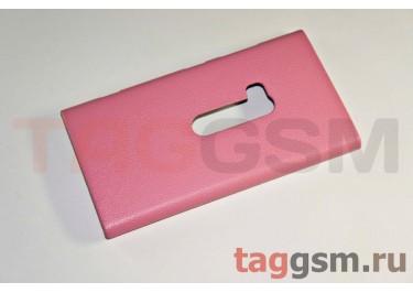 Накладка JZZS Leather Nokia 920 pink