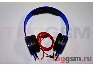гарнитура MP3 MONSTER BEATS TRACKS (тип 931) полноразмерная синяя